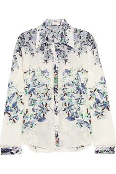 ERDEM  Cecilia silk crepe de chine blouse