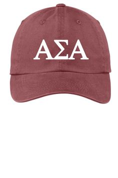 ASA   Alpha Sigma Alpha   Choose Your Colors   Sorority Cap b95422711c90