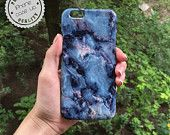 Blue Marble Case, iPhone 6 Plus Case, Marble iPhone 6 Case, iPhone 5S, iPhone 5C Case, iPhone 5 Case, iPhone 4s Case, Samsung Galaxy S4, S5