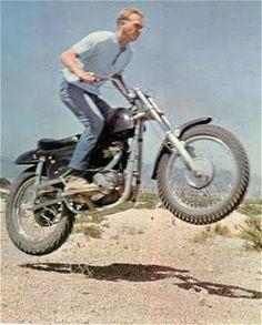 Steve McQueen on his Rickman Metisse