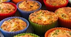 Gluten-Free Breakfast Muffins with Zucchini, Feta, and Quinoa -- This site has all sorts of gluten free quinoa recipes for all types of foods Breakfast And Brunch, Breakfast Muffins, Breakfast Recipes, Quinoa Muffins, Quinoa Breakfast, Cheese Muffins, Egg Muffins, Morning Breakfast, Breakfast Casserole
