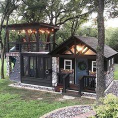 Tiny House In Backyard . Tiny House In Backyard . 51 Most Color Dream House Exterior Design Ideas 7 Irma