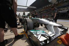 Formel 1 - MERCEDES AMG PETRONAS, Großer Preis von China, Shanghai. 12.-14.04.2013. Nico Rosberg