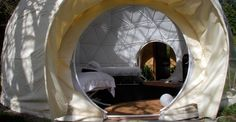 Domes Archive - Luxury Glamping Holidays in the UK - The Dome Garden