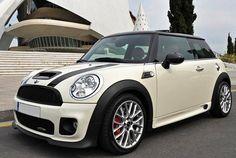 Mini Cooper, white, Bumper cover, Frame Rail Cover, Kick Plate, Door sill Cover