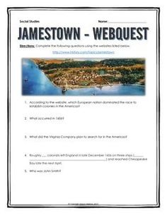 Jamestown And Plymouth Venn Diagram, Jamestown, Free Image About ...