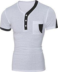 jeansian Men's Summer V-Neck Short Sleeves Stitching T-sh... http://www.amazon.com/dp/B01G3GGZEY/ref=cm_sw_r_pi_dp_xCvrxb0SGS73S
