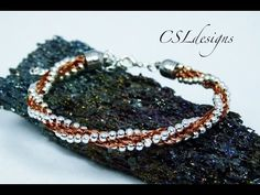 ▶ I just love listening to Christina's voice! She has the BEST tutorials around! Beaded wire kumihimo braid - YouTube