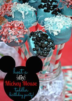It's a Mickey Mouse Birthday Party!