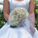 Simply Elegant Hydrangea Wedding Collections 10-piece wedding collection includes 1 bridal bouquet, 2 bridesmaid bouquets, 2 corsages, 4 attendant boutonnieres, 1 petite bouquet  Costco $229.99