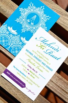 blue and purple mehndi invitation tabibi Real DC Area Indian Inspired Wedding Invitations Indian Wedding Invitation Cards, Wedding Reception Invitations, Indian Wedding Invitations, Wedding Invitation Wording, Invitation Design, Wedding Cards, Invitation Ideas, Invitation Templates, Mehndi Party