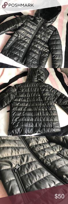 Zara Boys Puffer Coat Black puffer coat! Super cute and stylish. New with tags. Medium weight. Zara Jackets & Coats Puffers