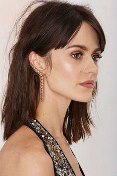 Belle of the Ball Cuff Earring - Accessories | Earrings | Ear Cuffs | Gold