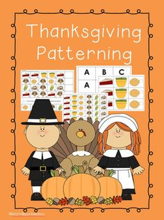 Here's a set of Thanksgiving themed pattern materials.