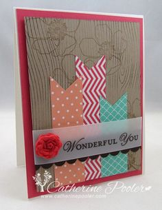 Video tutorial on the Simply Pressed Clay on this post.  http://catherinepooler.com/2013/06/stampin-up-simply-pressed-clay/