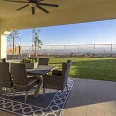 Outdoor spaces with style at Phoenix Crest, by Benchmark Communities. New homes in Rancho Cucamonga.