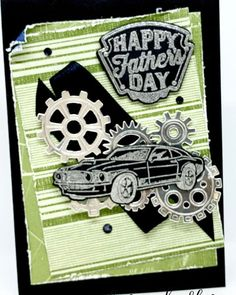 This video is about Geared Up Garage Fathers Day. It is always great to revisit a set and with Fathers day coming on the September I really wanted to rev. Gear S, Stampin Up Catalog, Masculine Cards, Stamping Up, Stampin Up Cards, Fathers Day, Have Fun, Card Making, Garage