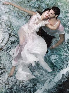 Couple in water/Ben Barnes