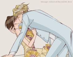 anime couples ♥ TAMAKI AND HARUHI!!!!!!!