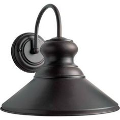 Design House Mason RLM Oil-Rubbed Bronze Outdoor Wall-Mount Dark-Sky Downlight-519504 - The Home Depot