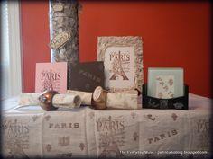#SpringtimeinParis #contest @michaelsstores - my entry, a hostess gift set