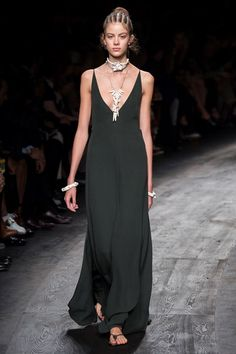Valentino #PFW16 #black #dress #Valentino