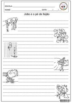 Folha para o reconto           Dado ilustrado     Excelente para trabalhar a oralidade e a memória. A professora joga o dado ...