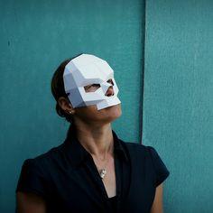 Skull Half Mask - Wintercroft  - 2