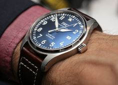 The IWC Pilot's Watch Automatic 36 is just simply gorgeous. Check out an amazing video:  https://www.youtube.com/watch?v=LPWEjAzPEt8&feature=youtu.be