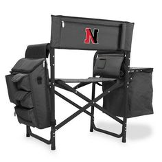 Northeastern State University Fusion Portable Outdoor Chair w/Digital Print