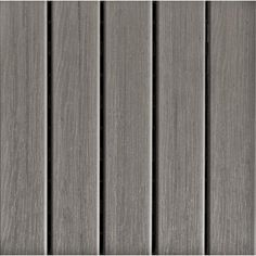 ecotrend - 12x12 inch deck & balcony tile (pack of 6) - mt5100012