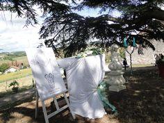 Idée pupitre, arbre à empreinte cérémonie laïque