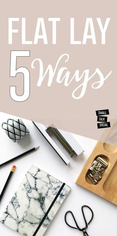 Master the flat lay photo for Instagram with these five different ways!   Photo styling tips for your Insta-grid...