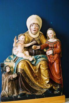 Ste Anna, Alsace, France Ateliers maître de Rebenden 1510-1525 (München)