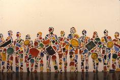 Tony Cragg: Menschenmenge, March 1986 through April 1986 (Image: Brooklyn Museum photograph, A Level Art Themes, Plastic Art, Gcse Art, Assemblage Art, Recycled Art, Cool Artwork, Amazing Artwork, Art Club, Art Festival