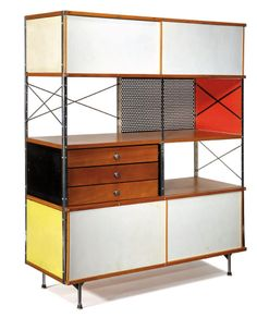 storage unit by charles + ray eames - designed 1950
