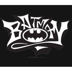batman graffiti name t-shirt by batman