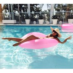 Tanning at The Standard Hotel in Los Angeles