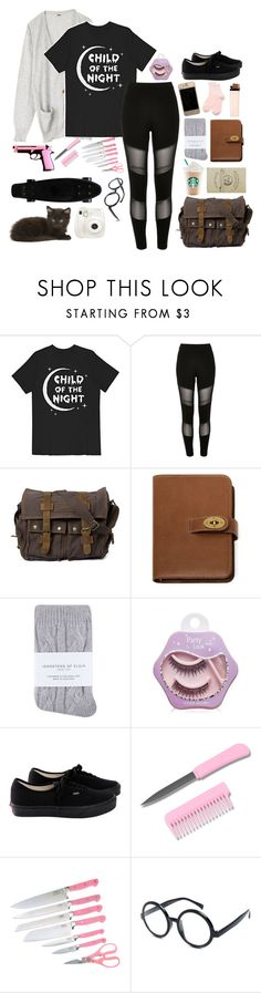 """Creepypasta Oc: Esmeralda"" by briannar4582 ❤ liked on Polyvore featuring River Island, Gypsy, Mulberry, Johnstons, Etude House, Vans, Fuji and Ocsbybriannathealien"