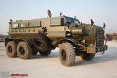 Marauder armored vehicle.