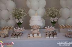 Batizado ovelha (menino), decoração e personalizados by Mariah festas.