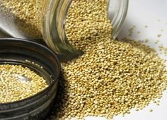 Eat this: Quinoa - high in both protein and fibre, which help keep you ...
