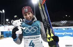 Takto pózuje trojnásobná olympijská víťazka Anastasia Kuzminová.