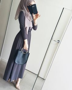 Islamic Fashion, Muslim Fashion, Modest Fashion, Girl Fashion, Fashion Outfits, Hijab Wear, Hijab Dress, Modest Wear, Modest Outfits