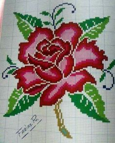 Exhilarating Designing Your Own Cross Stitch Embroidery Patterns Ideas Free Cross Stitch Charts, Funny Cross Stitch Patterns, Cross Stitch Designs, Crochet Flower Patterns, Beading Patterns, Embroidery Patterns, Cross Stitch Rose, Cross Stitch Flowers, Cross Stitching