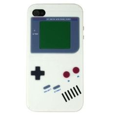 Nintendo Game Boy Gameboy Silicone Case For iPhone 4 4S, wish they had something this cool for my droid 3
