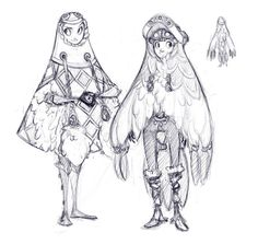 > More Demon Road & AU LoZ Art on Patreon> Demon Road TumblrBuried this in my old computer before it started to die and was ust  recently able to unearth it. I love twilight princess and I love Ashei's  design most of all. Especially her yeti winter gear:  http://zeldawiki.org/images/7/7a/AsheiConceptArt.jpg . I thought it  would be fun to do Demon Road Link and Zelda in yeti winter gear based  on Yeta and Yeto:  http://zeldawiki.org/images/thumb/e/e6/Yeta.png/353px-Yeta.png ...