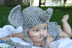 PatternElephant ear flap and diaper cover by creativedayconcepts, $4.00