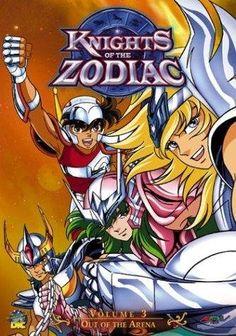 Saint Seiya (Caballeros del zodíaco, Knights of the Zodiac)      1986 - 1989