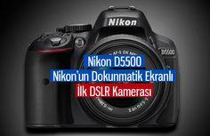 Nikon D5500 modeli CES 2015 etkinliğinde tüketicilere tanıtıldı. Nikon'un LCD dokunmatik ekrana sahip ilk DSLR kamerası olan D5500, bu pazara da katılmış oldu. Sektördeki en büyük rakibi olan Canon, 2012 yılında tanıttığı Rebel serisi dokunmatik DSLR kameralar ile pazarda lider konumundaydı.